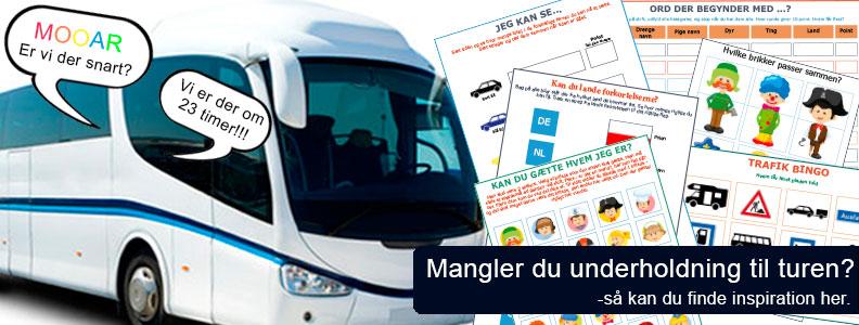 ferie med bus
